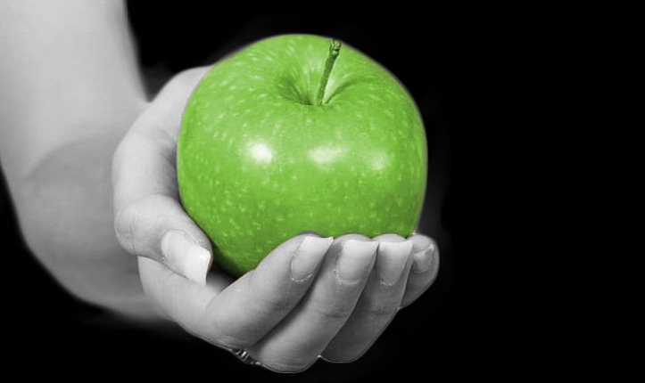 Apple Fruit Cakie